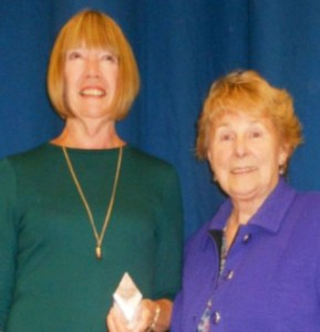 Left: Judy Mepham Right: Janice Moore President, The Keep Fit Association