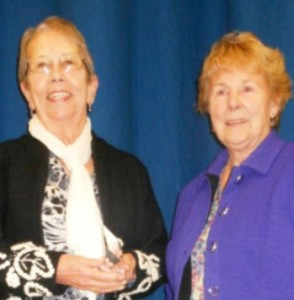 Left: Sheila Howarth Right: Janice Moore - President, The Keep Fit Association